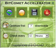 BitComet Accelerator screenshot